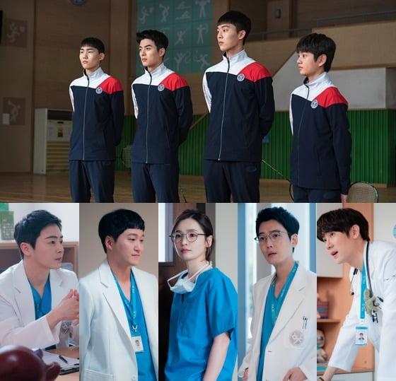 '라켓소년단', '슬의생2' 스틸컷./사진제공=SBS, tvN