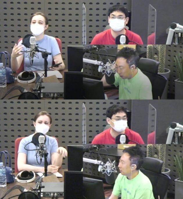 에바-박영진-박명수./ 사진='박명수의 라디오쇼' 캡처