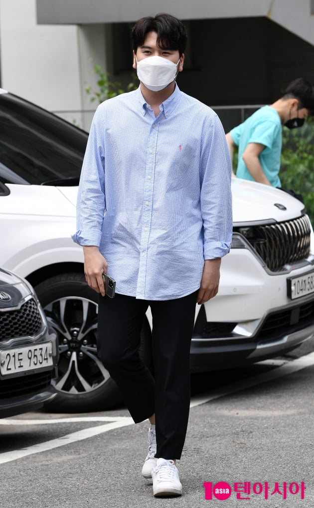 [TEN 포토] 라포엠 정민성 '남친룩의 정석'