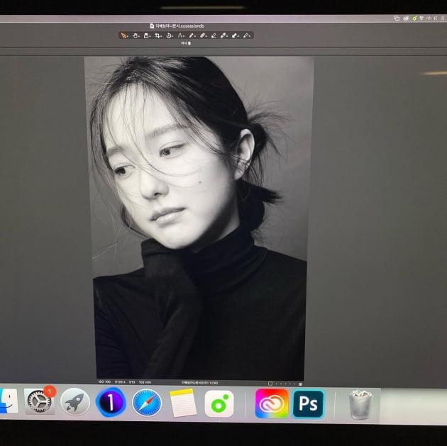 '전현무♥' 이혜성, 금방이라도 울 것 같은 눈빛 [TEN★]