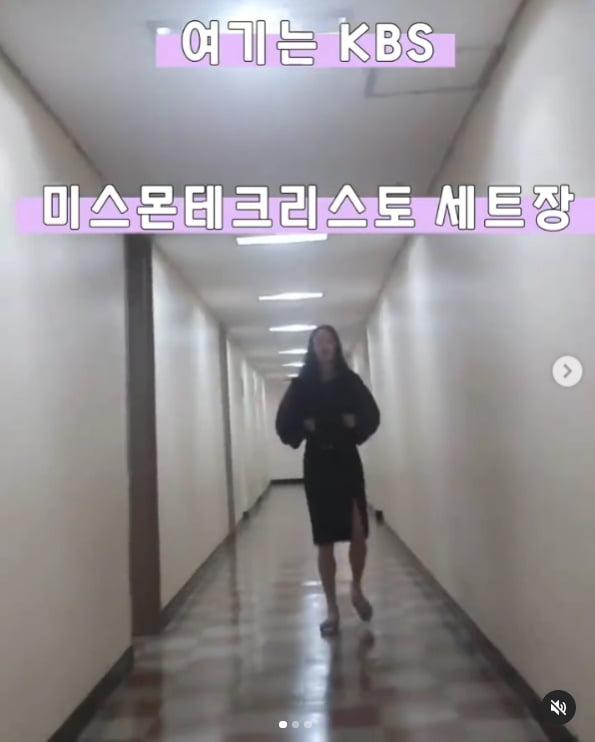 최여진, 치마를 여러 개 찢어먹고...축구올킬!!![TEN★]