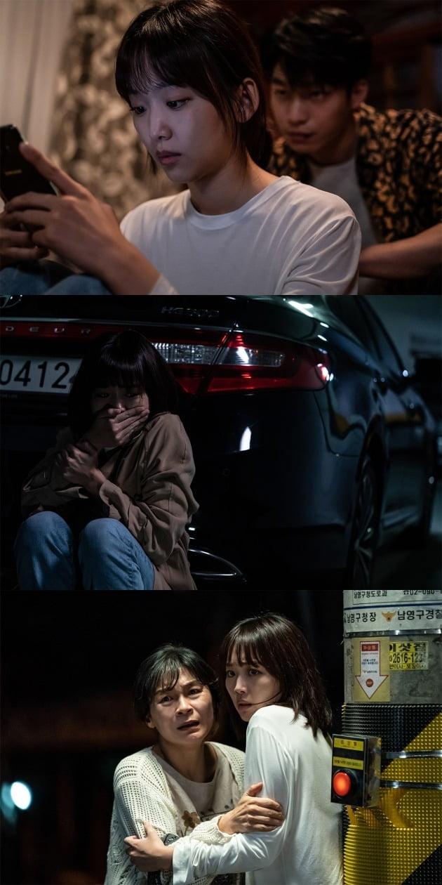 영화 '미드나이트' 스틸 / 사진제공=CJ ENM, 티빙