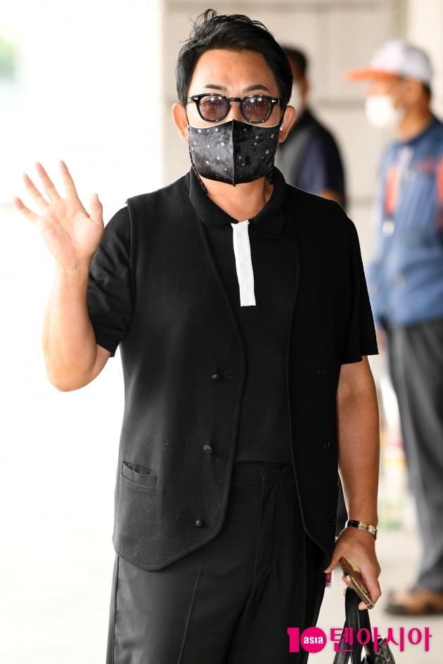 [TEN 포토] 이승철 '가수가 아닌 심사위원으로 왔어요'