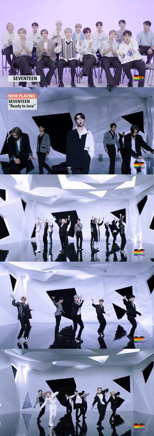 사진='MTV Fresh Out Live' 방송 화면 캡처