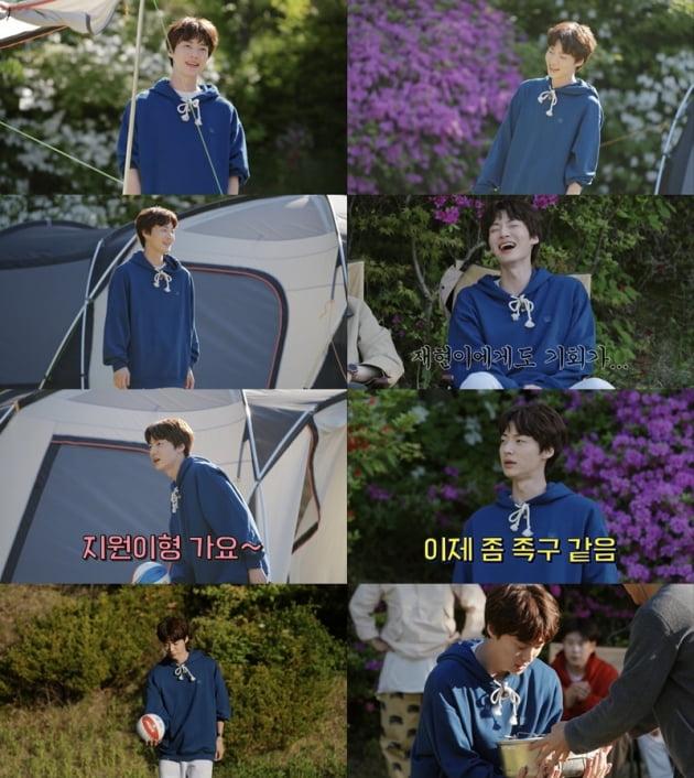 '스프링 캠프' 안재현 / 사진 = 티빙 오리지널 영상 캡처
