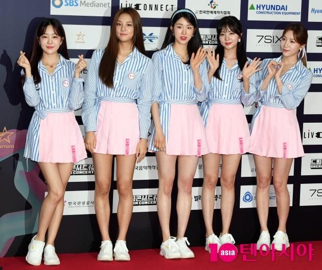 [TEN 포토] 라붐 '역주행으로 드림콘서트까지'