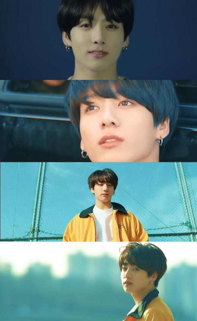 방탄소년단 정국, '유포리아 '장마에 듣기 좋은 K-팝' 인도 매체 선정