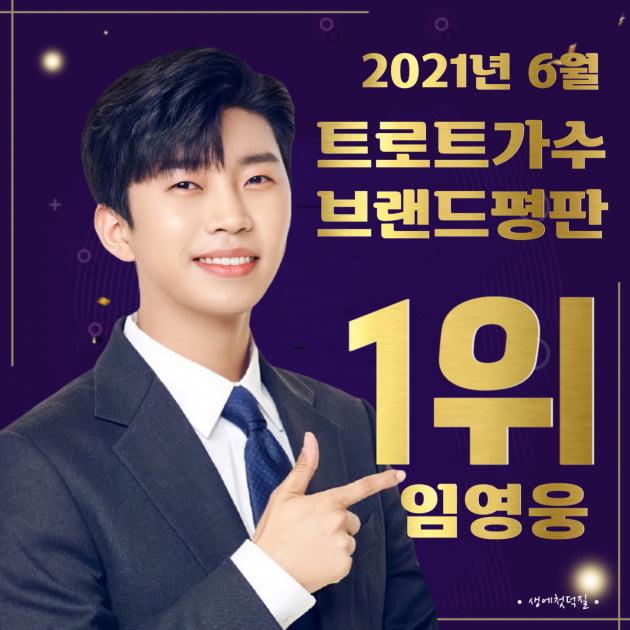 '트로트 황태자' 임영웅, 트로트 가수 브랜드 평판 6개월 연속 1위