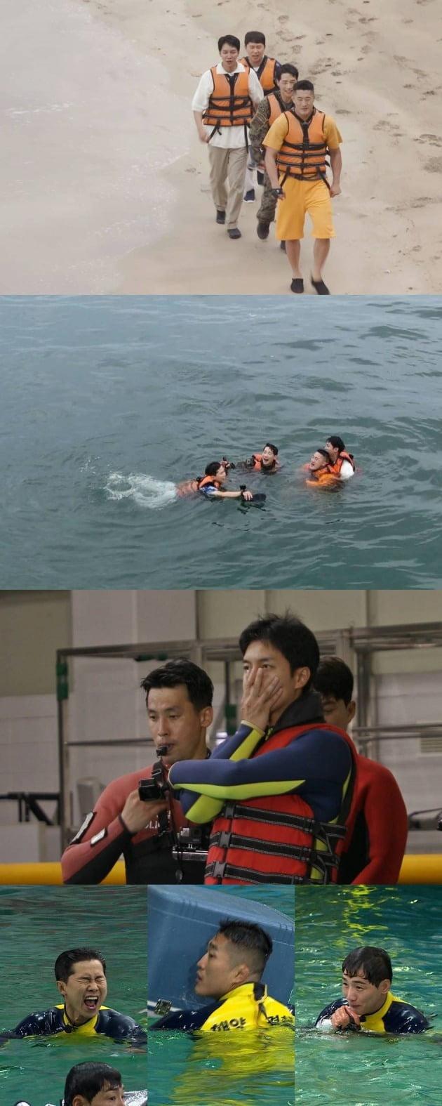 '집사부일체'가 해양 사고 예방을 위한 생존법을 알려준다. / 사진제공=SBS