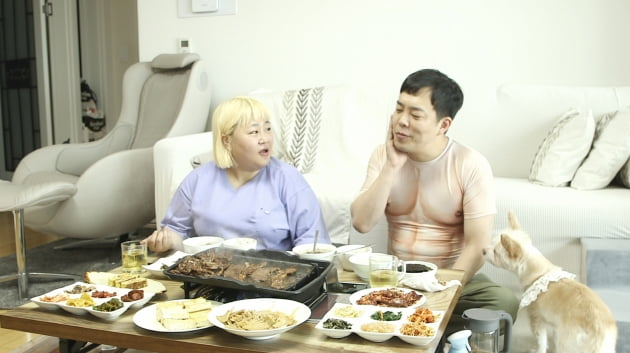 김민기, ♥홍윤화가 준비한 25첩 아침상에 '뜻밖의 수난'('1호가')