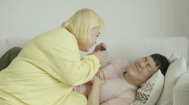 홍윤화-김민기 부부 / 사진제공=JTBC