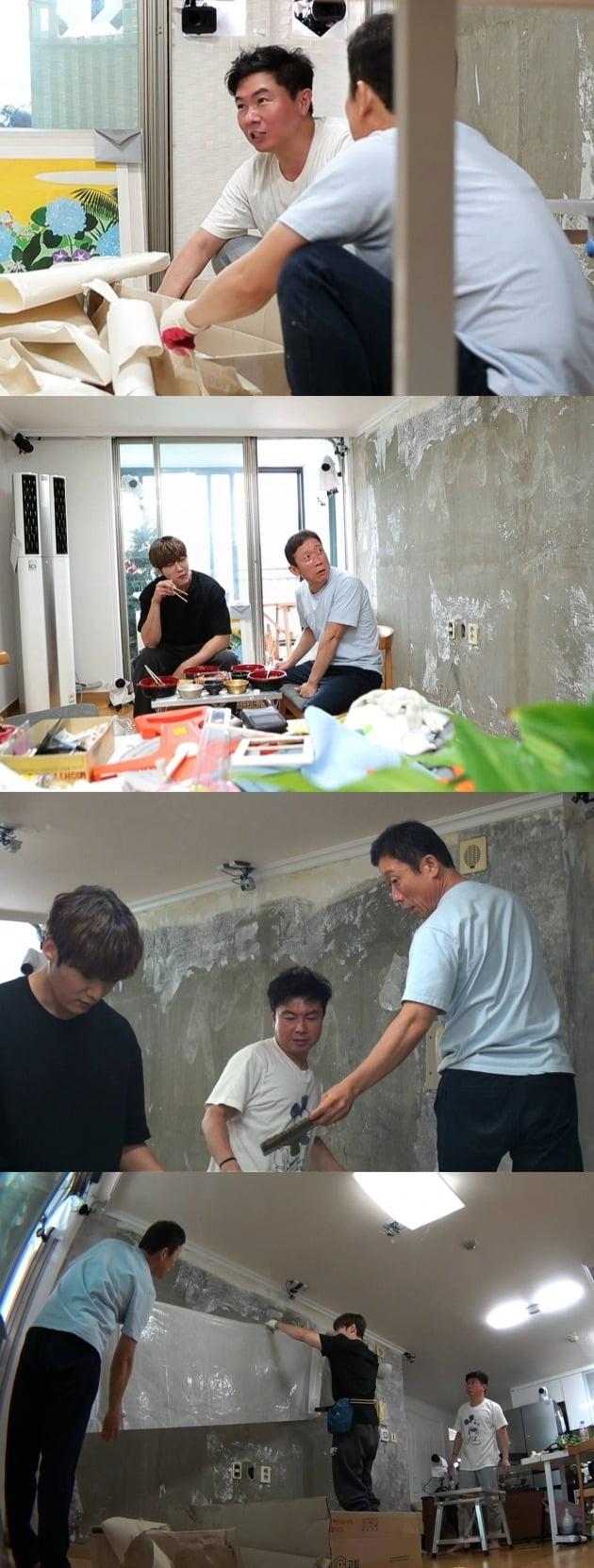 임원희가 정석용, 최진혁을 집으로 초대했다. / 사진제공=SBS