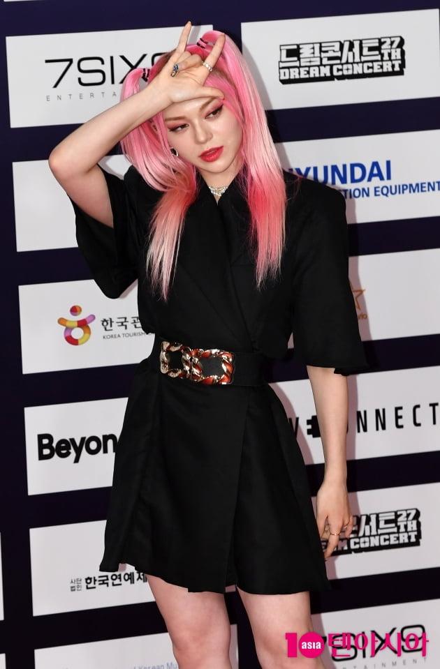 [TEN 포토] 알렉사 '사랑스러운 핑크소녀'