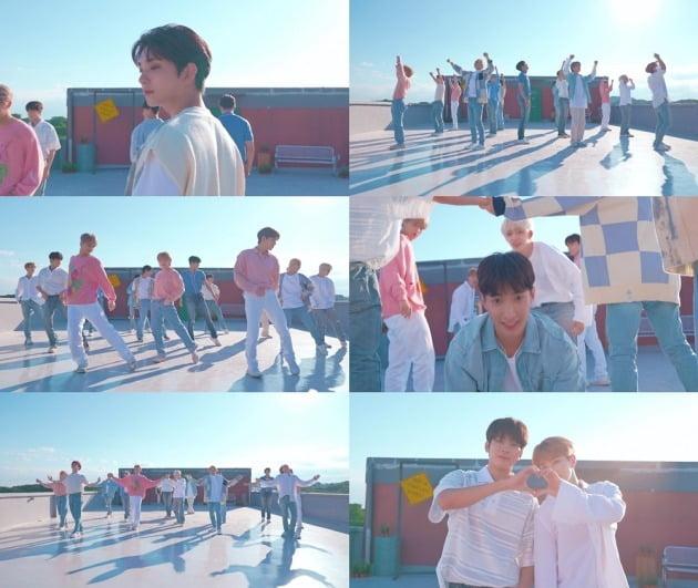 그룹 세븐틴 'Ready to love' 스페셜 영상 / 사진제공=플레디스엔터테인먼트