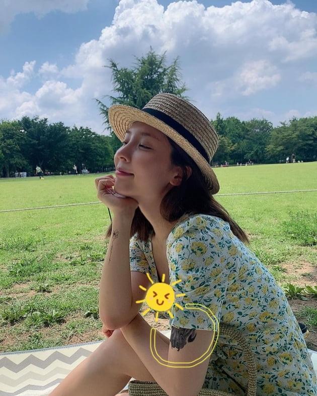 """'오뚜기 주주' 함연지, """"팔뚝에 남은 호랭이 문신"""" 순둥햄의 반전 과거? [TEN★]"""