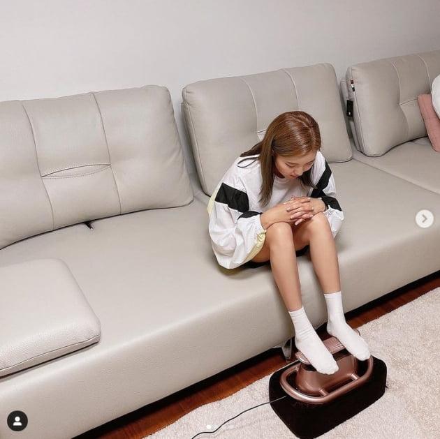 송가인, 44kg 달성 뒤...시선 싹쓸이한 각선미[TEN★]