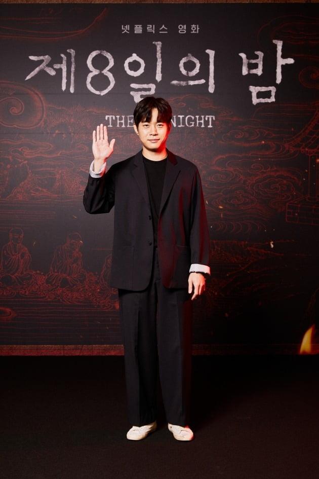 배우 김동영이 28일 열린 넷플릭스 영화 '제8일의 밤'의 온라인 제작보고회에 참석했다. / 사진제공=넷플릭스