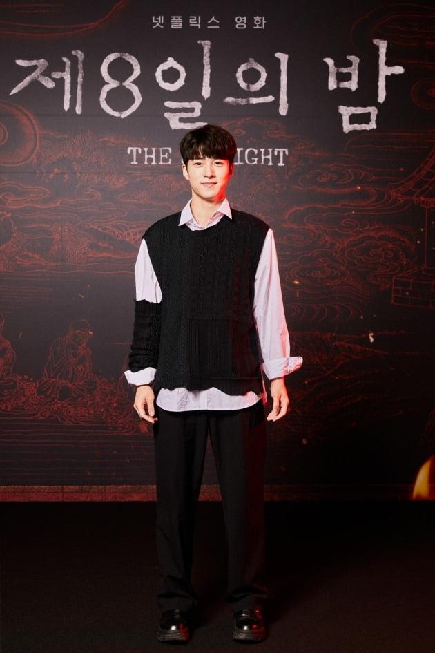 배우 남다름이 28일 열린 넷플릭스 영화 '제8일의 밤'의 온라인 제작보고회에 참석했다. / 사진제공=넷플릭스