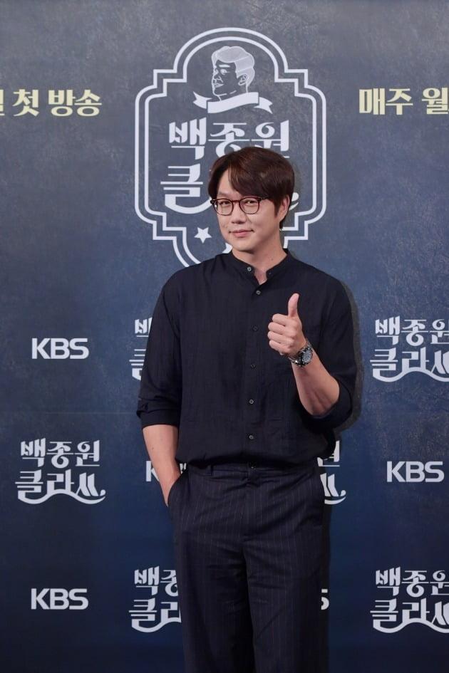 '백종원 클라쓰' 성시경/ 사진=KBS2 제공