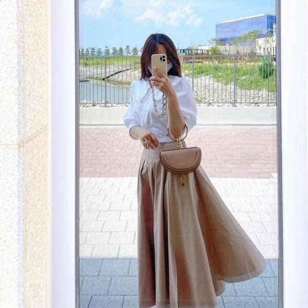 '박성광♥' 이솔이, 명품 반달백 들고 가벼운 발걸음 [TEN★]