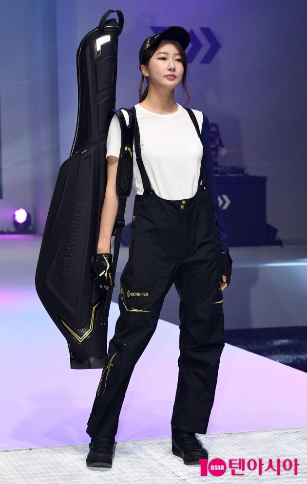[TEN 포토] 수빈 '오늘은 패션모델...'