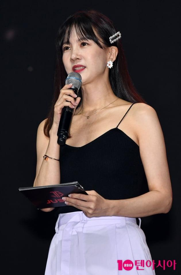 [TEN 포토] 박소현 '아이돌박사의 시원한 여름패션'