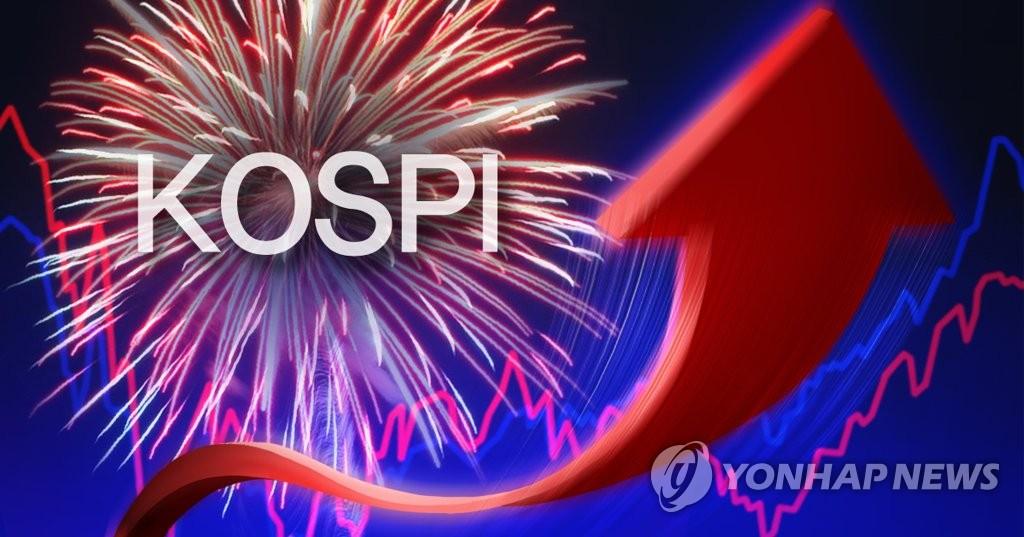 코스피 5개월만에 장중 최고치 경신(종합)