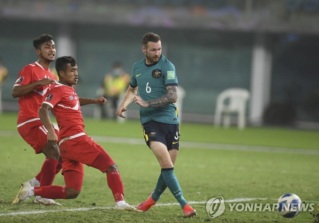 호주, 카타르월드컵 최종예선 합류…네팔 꺾고 7전 전승