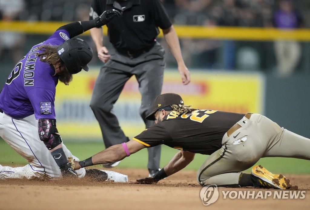 '김하성 결장' 샌디에이고, 9회 2점 뽑았지만 2-3 석패