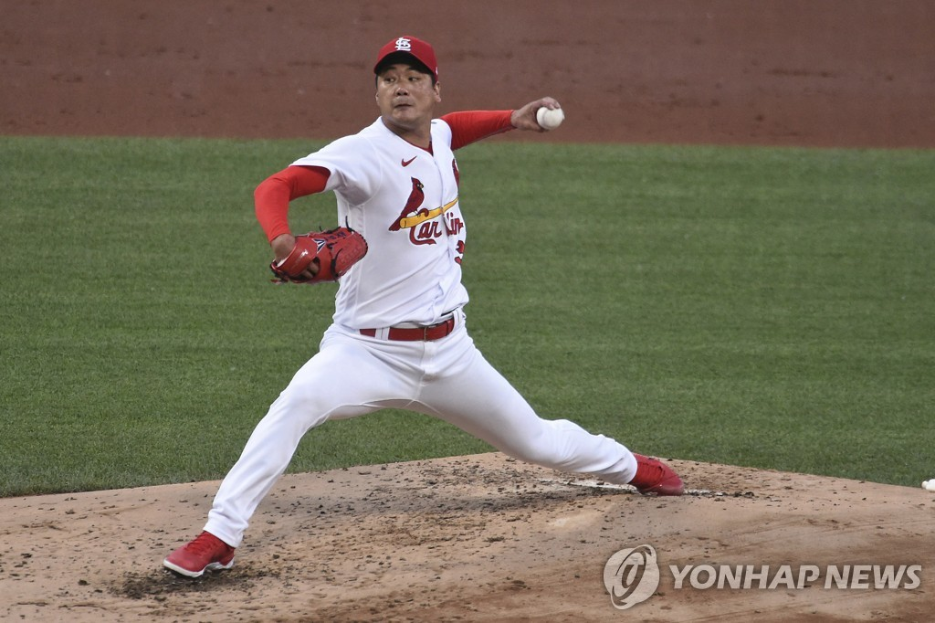 김광현, 21일 출격…애틀랜타 상대로 시즌 2승 재도전