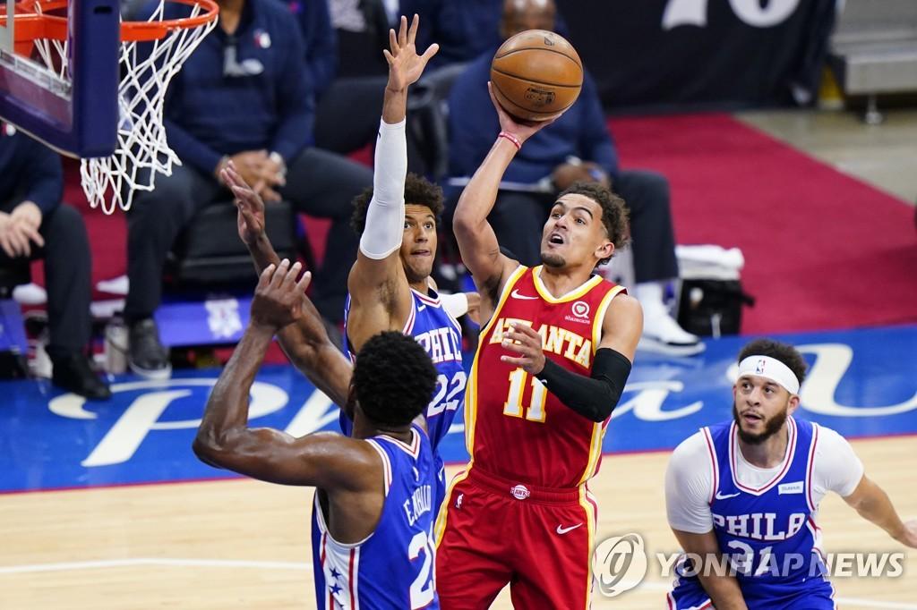 NBA 애틀랜타, 필라델피아에 26점 차 뒤집기…동부 결승 보인다