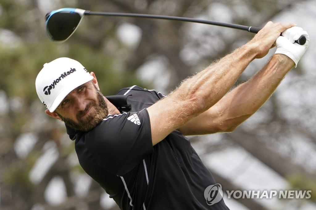 존슨, PGA 투어 트래블러스 대회 2연패·세계 1위 탈환 노린다