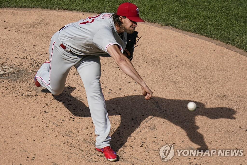 KKKKKKKKKK…필라델피아 놀라, 10연속 탈삼진 'MLB 놀랐다'