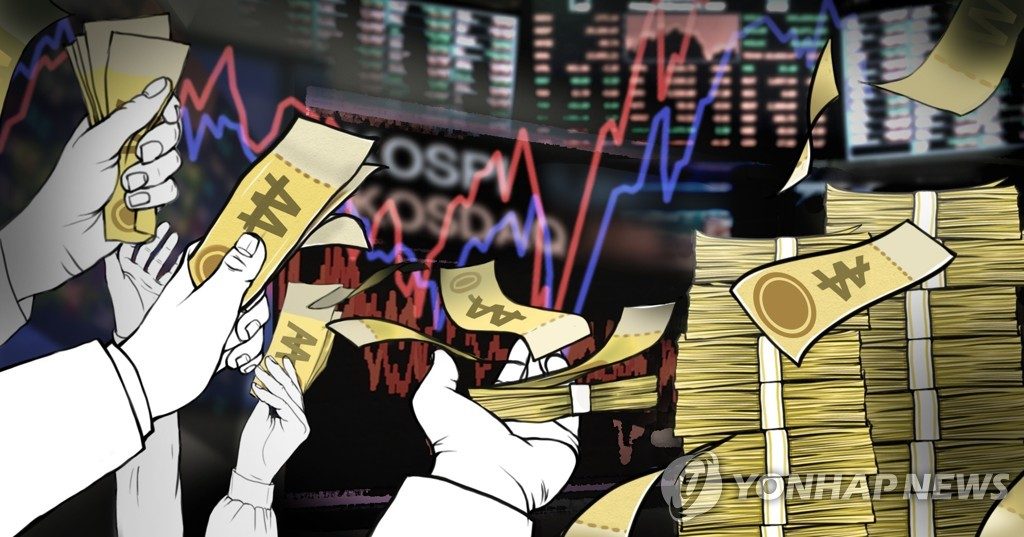 펀드시장 규모 1천300조 돌파…작년보다 100조 증가