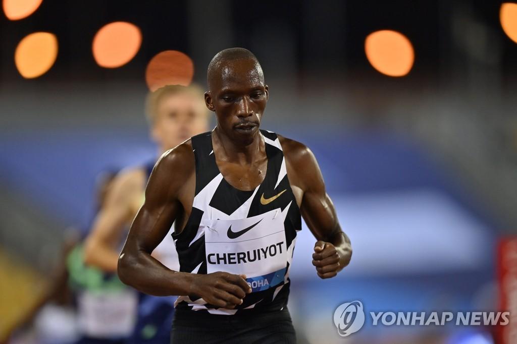'리우 金' 키프루토·체루이요트, 도쿄올림픽 대표선발전 탈락
