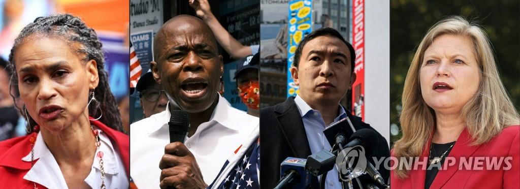 뉴욕시장 선거, 흑인·여성 후보 3파전 구도로 재편