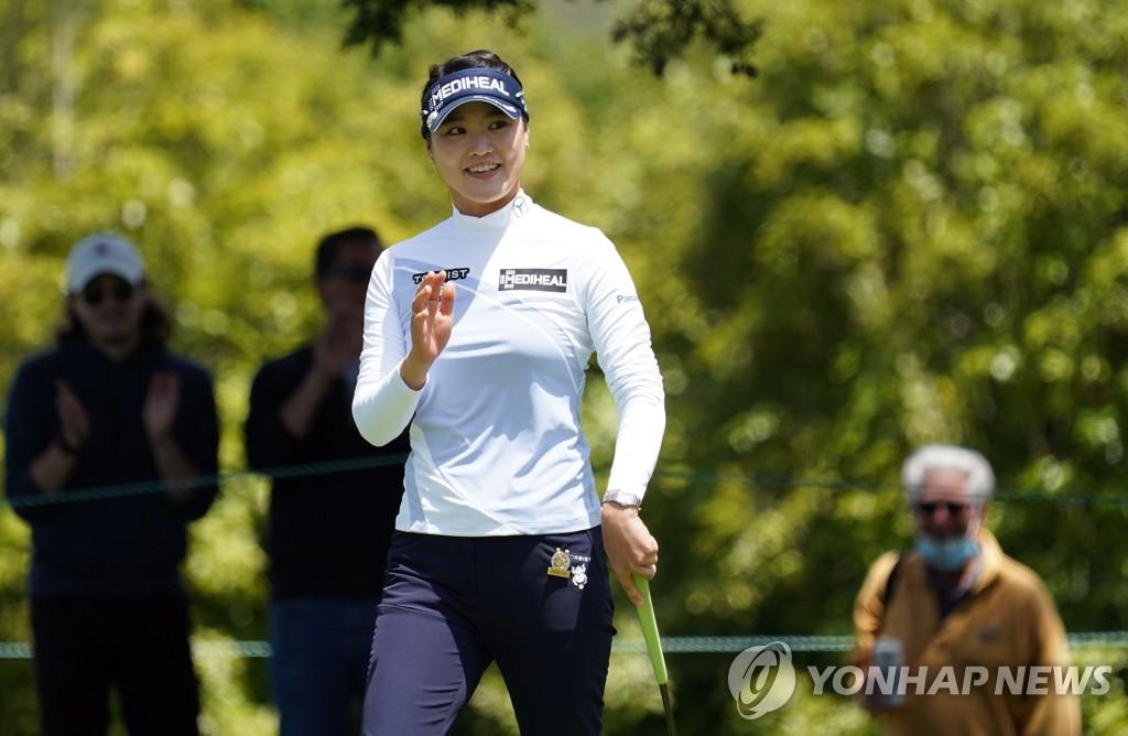 김아림, LPGA 투어 2승 도전…선두와 3타 차 공동 4위(종합)