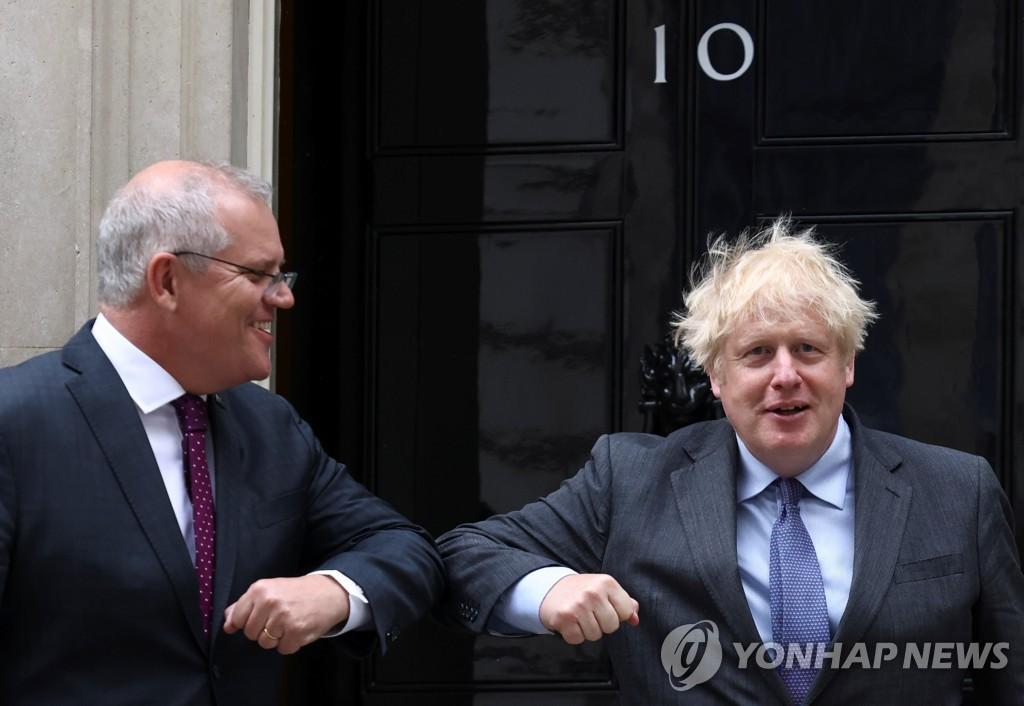 영국·호주, 오늘 FTA 체결 발표…브렉시트 이후 처음