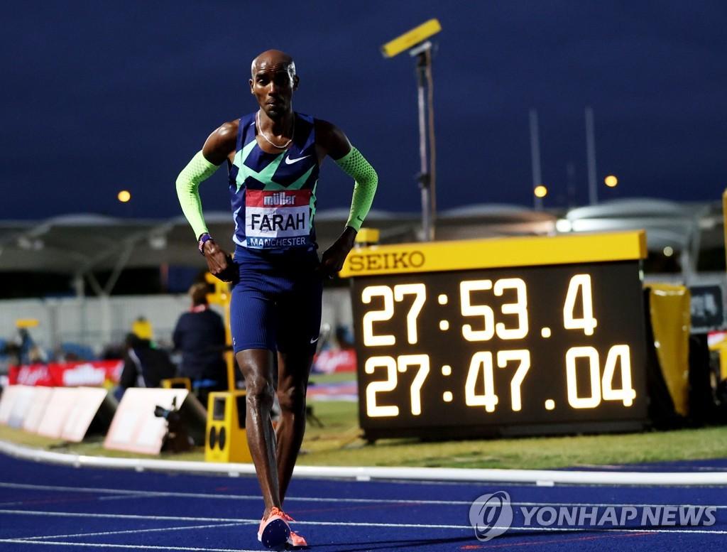 '장거리 영웅' 패라, 남자 10,000m 올림픽 출전권 획득 실패