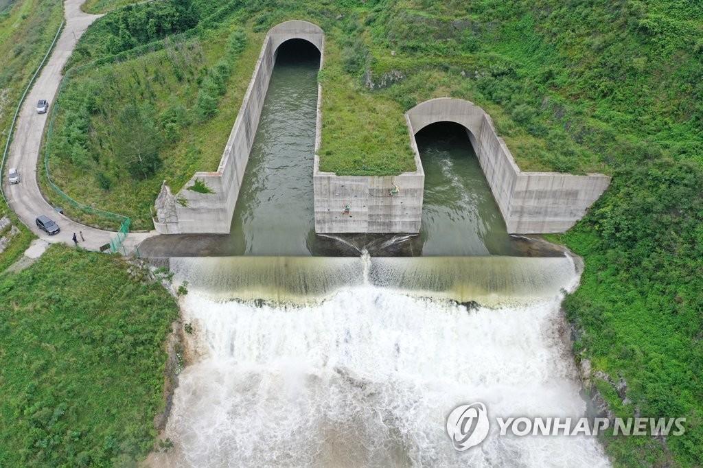 섬진강댐 올해 장마에 작년보다 7천700만t 홍수조절용량 늘린다