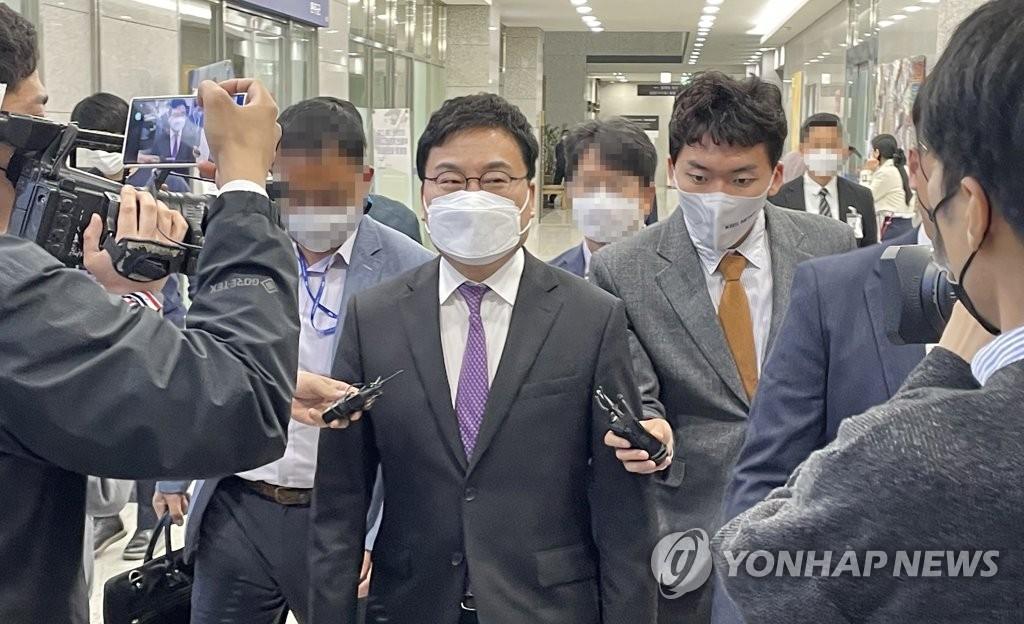 """""""조직적 선거 범죄""""…이상직 1심 집행유예 2년 '당선무효형'(종합)"""
