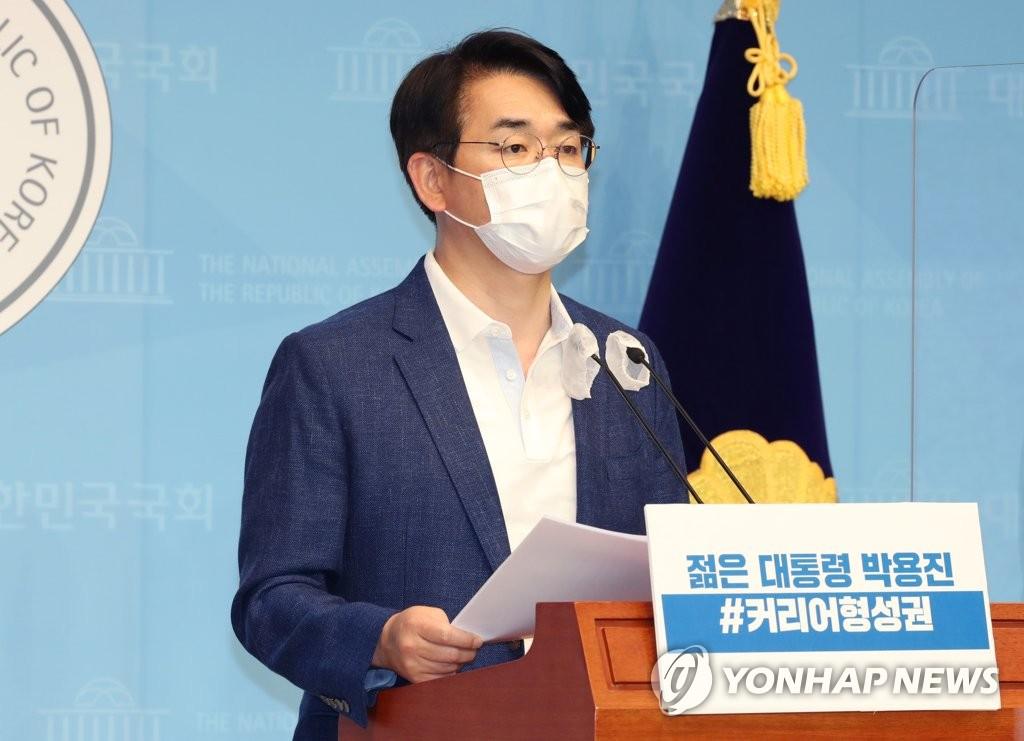 """박용진 """"이재명, 정치 유불리 따라 태도 바꿔…검증 받아야"""""""