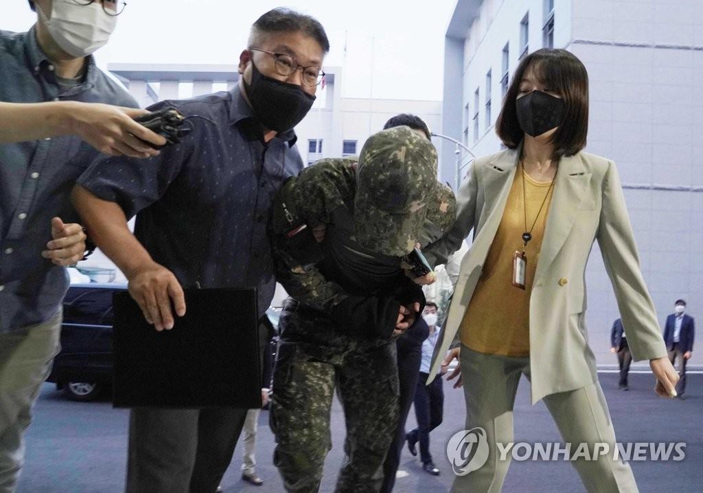 '여중사 성추행' 장중사 강제추행·보복협박 혐의 기소…111일만(종합)