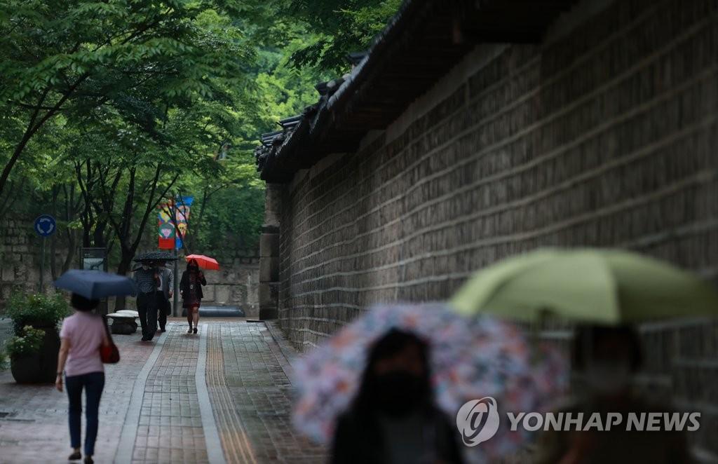 [내일날씨] 전국 흐리고 비…오후 들어 차차 그쳐
