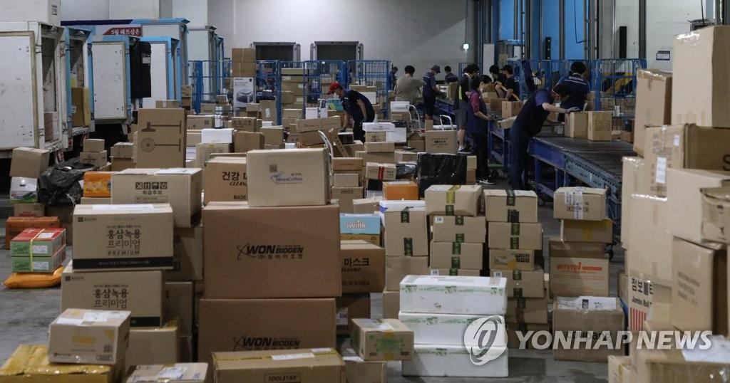 배송 지연에 접수·집하 중단도…택배노조 파업 영향 확산