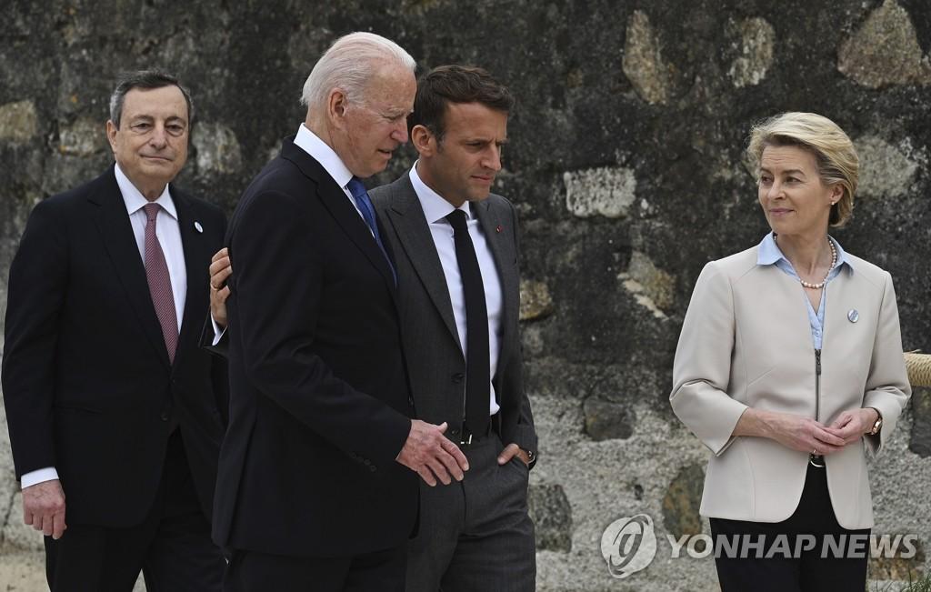"""이탈리아 드라기 총리 """"중국 일대일로 참여 재검토"""""""