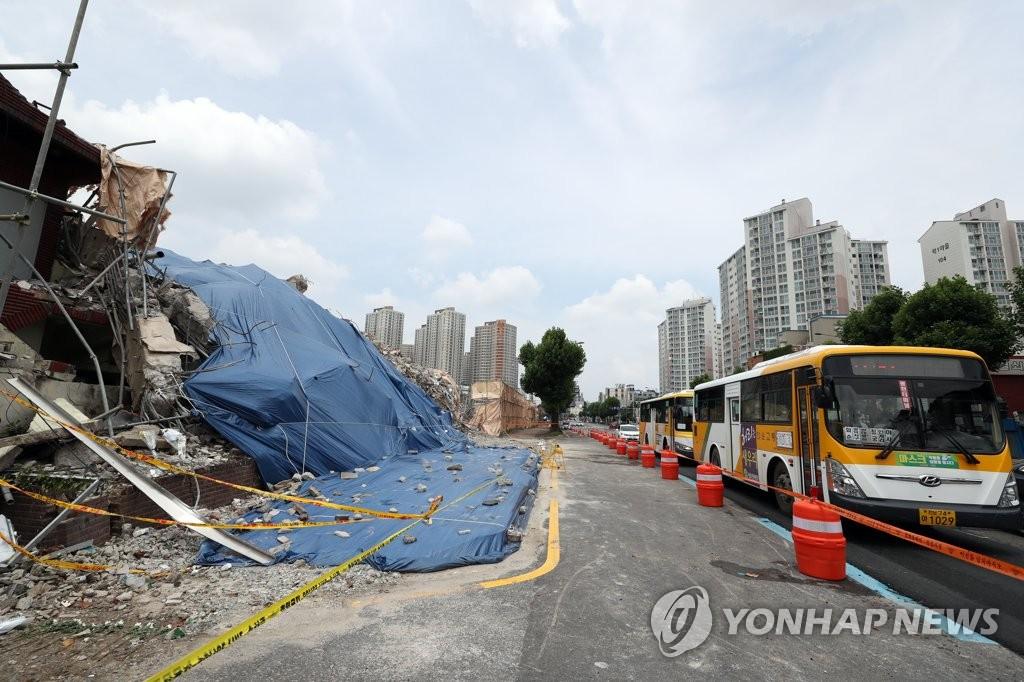 '철거 건물 붕괴' 재개발조합까지 수사 확대하나