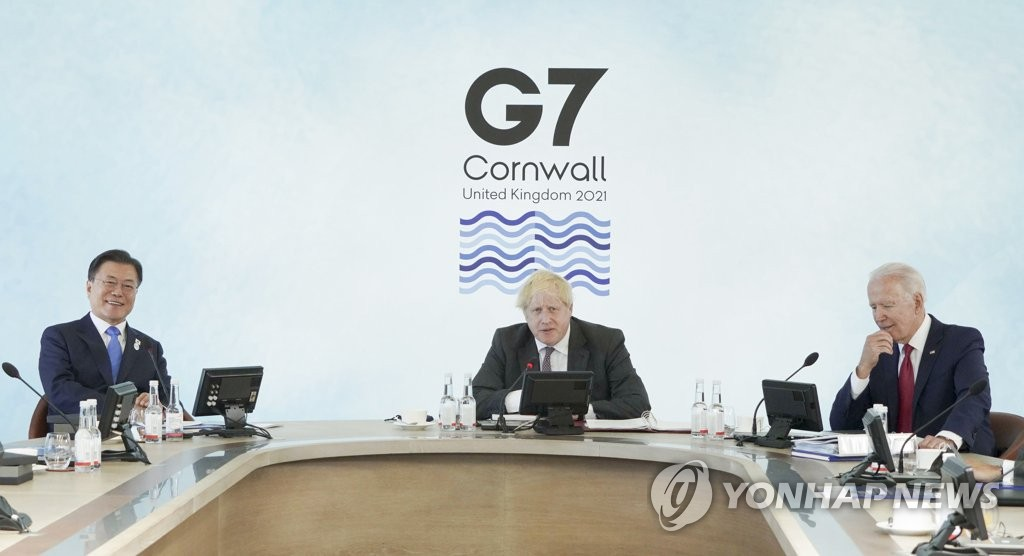 한일, G7서 약식 정상회담 합의했지만 일본이 취소…日은 부인(종합)