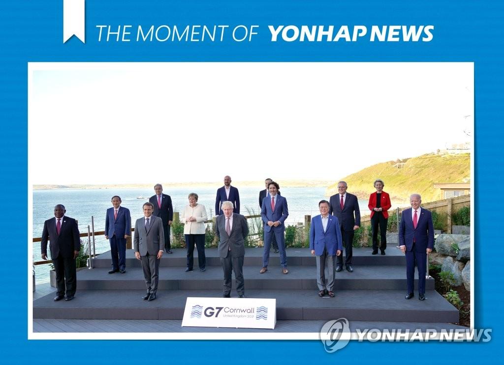 G7서 한일 및 한미일 정상회담 끝내 '불발'