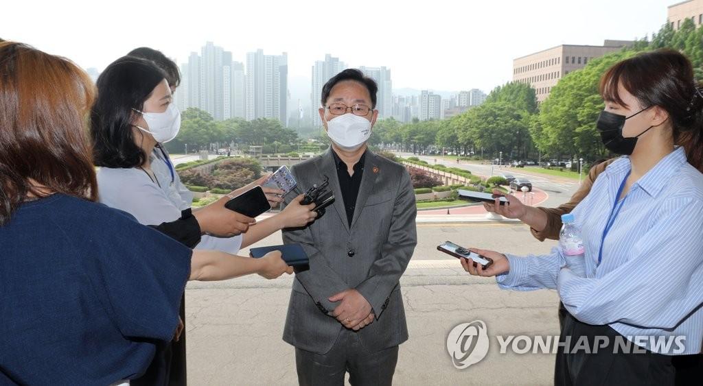 """박범계, '김학의 수사팀' 겨냥해 """"이해상충 있다"""""""